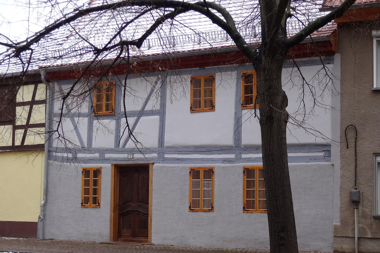 Das Haus nach Fertigstellung